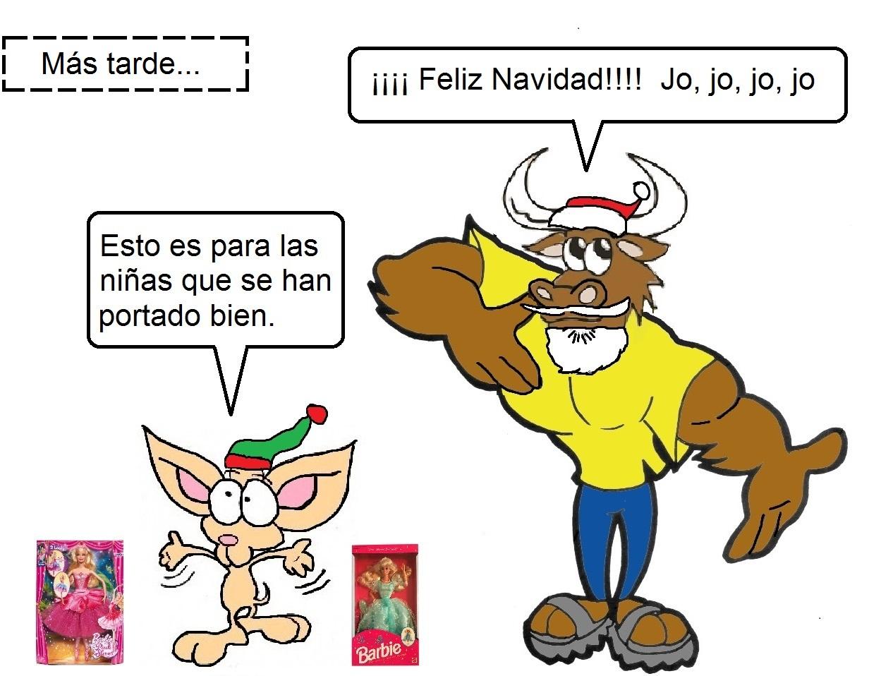 Torito y Taquito en la Navidad