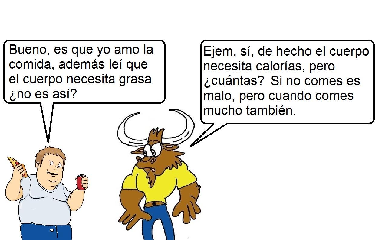 Pepe el toro en los alimentos