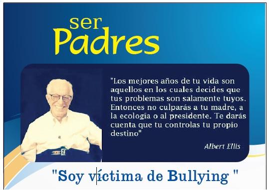 Soy víctima de Bullying