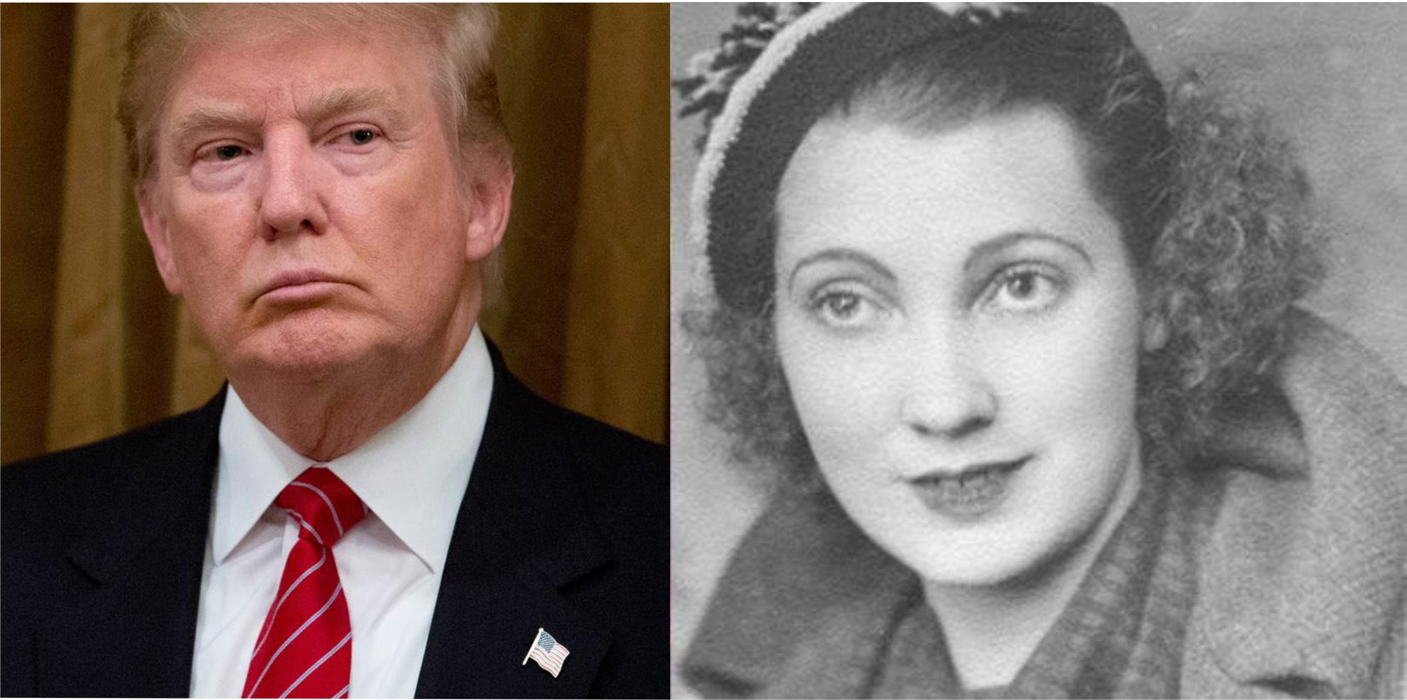 la madre de trump