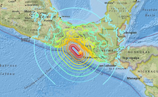 Mexico earthquake kills at least 35 and sparks mass evacuations