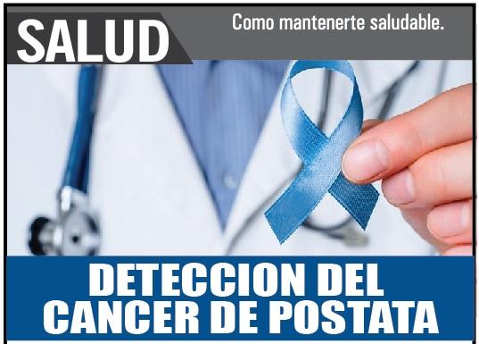 Cancer Próstata prueba de detección