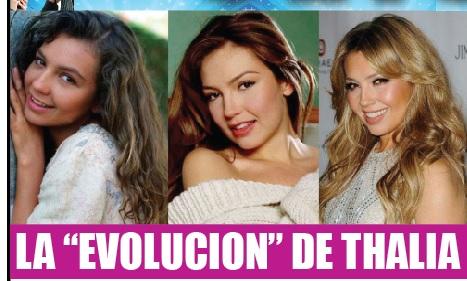 Evolución de Thalía