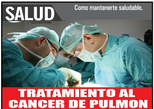 Tratamiento al cáncer de pulmón