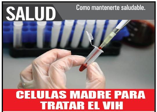 Celulas madre para tratar el VIH