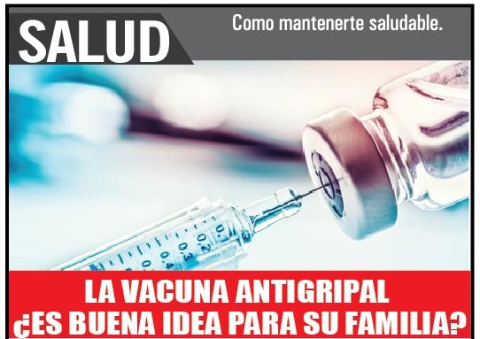 La vacuna antigripal ¿Es buena idea para su familia?