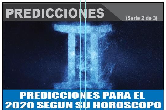 PREDICCIONES PARA EL  2020 SEGUN SU HOROSCOPO 2 de 3