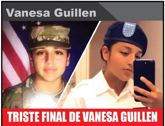 TRISTE FINAL DE VANESA GUILLEN