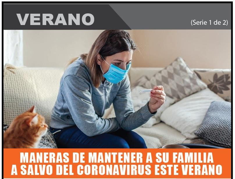 MANERAS DE MANTENER A SU FAMILIA A SALVO DEL CORONAVIRUS ESTE VERANO 1 de 2